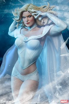 """"""" Bow before the White Queen! Sideshow is proud to present the Emma Frost Premium Format™ Figure, the next addition to the X-Men Collection. The Emma Frost Premium Format™ Figure measures Emma Frost, Xmen Apocalypse, Sideshow Toys, Sideshow Collectibles, Sideshow Statues, Sideshow Figures, Dead Pool, Marvel Women, Marvel Girls"""
