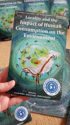 """""""GLS 3: Locality and the Impact of Human Consumption on the Environment"""" printed copies have finally arrived to our office and shortly they will be available for purchase in our online shop. A copy will be sold for a price that fits to your budget as we only ask you to donate a minimum of £5 which will help us run the journal and give the opportunity to students for them to get their academic pieces of writings published and distributed across the planet."""