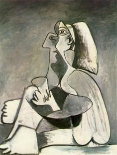 'childhood' by pablo picasso Pablo Picasso Drawings, Picasso Cubism, Picasso Paintings, Henri Matisse, Art Visage, Georges Braque, Painting & Drawing, Painting Lessons, Modern Art