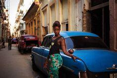 Una fotógrafa mostró labelleza delas mujeres de37países del mundo. La Habana, Cuba