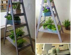 #DIY: lader planter from Handy Girls