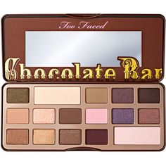 Chocolate Bar Eyeshadow Palette - Too Faced ($49) ❤ liked on Polyvore featuring beauty products, makeup, eye makeup, eyeshadow, beauty, eyes, too faced, fillers, palette eyeshadow and too faced cosmetics