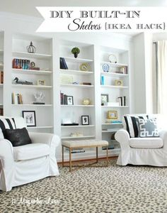 diy-easy-built-in-shelves-using-billy-ikea-bookcases