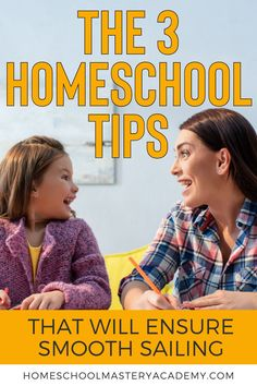 The 3 Homeschool Tips That Will Ensure Smooth Sailing #homeschool #homeschooltips #homeschoolhelp #homeschooling Kindergarten Homeschool Curriculum, Homeschooling Resources, Homeschool High School, Alternative Education, Lessons Learned, Super Simple, Parenting Tips, Teaching Ideas, School Ideas