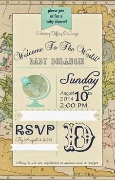 """Taste{Full}: My """"Welcome to the World"""" Baby Shower."""
