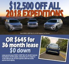 We don't need to say anything else! This is HUGE!! Take a look into our selection of Ford Expeditions New Ford F150, Edinburg Texas, Best Family Cars, Ford Expedition, Ford Trucks, Vehicles, Car, Ford, Vehicle