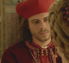 "Francois Arnaud. Can't wait for his return as Cesare Borgia in ""The Borgias"" Season 2."