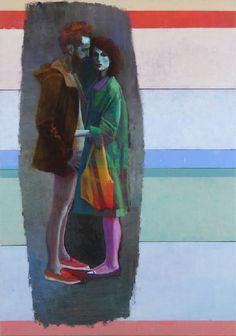 Akos Birkas Galerie EIGEN+ART Artsy, Sculpture, Illustration, Artwork, Paintings, Nice, Art Paintings, Idea Paint, Art Ideas