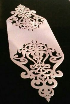 Stencil Patterns, Stencil Designs, Motifs Islamiques, Illusion Paintings, Diy Bookmarks, Sky Design, Scroll Saw Patterns, Christmas Fun, Decoration