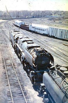 Union Pacific Steam - Don Strack Union Pacific Railroad, Steam Railway, Locomotive, England, Christian, Creative Food, Big Boys, Food Art, Modeling