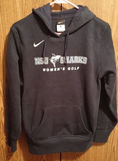 Nike Womens Sweatshirt NSU Sharks Womens Golf Size Small 4 Peat National Champs #nike #SweatshirtCrew