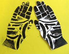 Mrs Crosbie: HANDS collagraph prints with texture rubbings School Art Projects, Art School, Collagraph Printmaking, Printmaking Ideas, Classe D'art, 5th Grade Art, Ecole Art, Art Lessons Elementary, Arts Ed