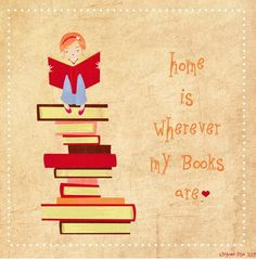 Hope is where the books are - a lovely sentiment for a Friday afternoon.