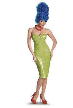 glam marge simpson from the simpsons halloween costumes