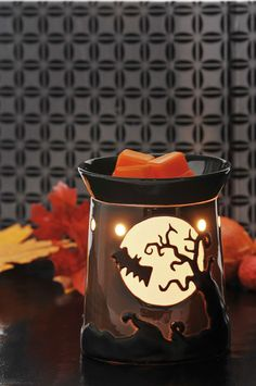 Boo!!!! Scents like Pumpkin Roll and Autumn Sunset make your home feel like Fall.