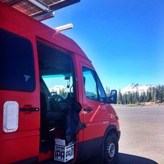 We love solar so much that we put it on everything, adventure vans included. This shot was taken in the parking lot of Mt. Bachelor Ski Area.