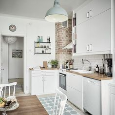 Little white kitchen