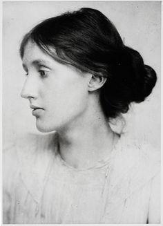 The brilliant literary figure, Virginia Woolf