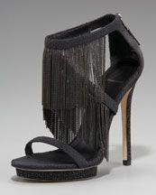 34f99d7dd1d B Brian Atwood Chain-fringe Platform Sandal