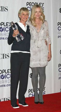 Ellen DeGeneres at the 35th Annual Peoples Choice Awards