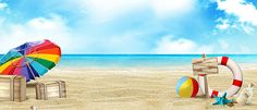 Fresh summer seascape background banner Free Background Photos, Banner Background Images, Beach Background, Conception D'applications, Beach Cartoon, Banners, Fb Cover Photos, Islamic Paintings, Summer Backgrounds