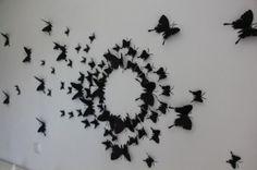 3 D Schmetterlinge für die Wand [DIY]