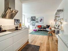Um apartamento feminino e inspirador com apenas 45m²   Blog   Zizabi