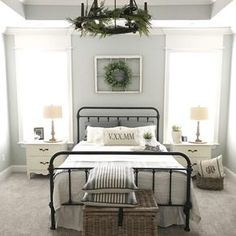 Sharing our cozy farmhouse style master bedroom and the reasons I love my mattress