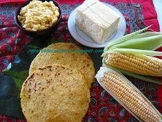 Cocina Costarricense: tortillas de queso