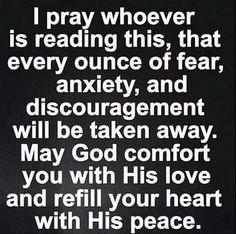 Comforting prayer