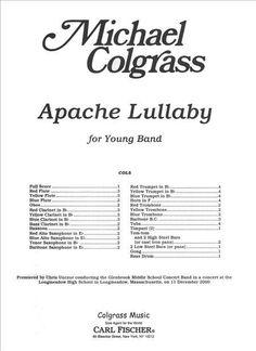 Apache Lullaby (Full Score - Large)