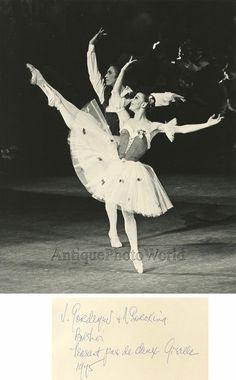 Gordeev Sorokina Russian ballet dancers vintage photo | eBay