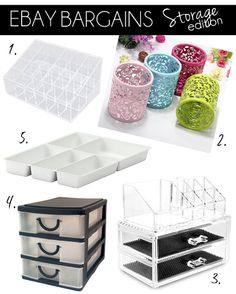 eBay Bargains #5 - Makeup Storage Edition