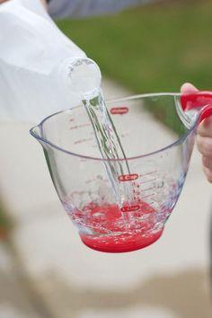 Vinegar Baking Soda Bottle Rocket