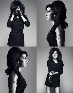 Harper's Bazaar, Ottobre 2010, Amy Winehouse, foto di Bryan Adams