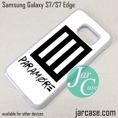 Paramore Logo Phone Case for Samsung Galaxy S7 & S7 Edge