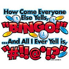 75 & 90 Ball Bingo games for USA and international players. Great selection of online bingo and casino games with frequent chat games and promotions. Bingo Quotes, Funny Quotes, Life Quotes, Bingo Pictures, Funny Pictures, Crazy Bingo, Adult Birthday Party, Birthday Jokes, 70th Birthday