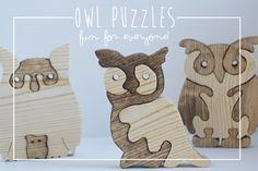Owl Wood Puzzle #Owl #Wood #Puzzle #toy