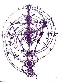 Tattoo Ideas Symbols Glyphs 23 New Ideas Tattoo Drawings, Body Art Tattoos, Black Tattoos, Magic Circle Crochet, Magic Symbols, Glyphs Symbols, Cool Symbols, Occult Art, The Dark Crystal