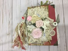 A personal favorite from my Etsy shop https://www.etsy.com/listing/538524575/vintage-rose-garden-theme-junk-journal