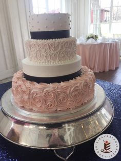 navy blue and blush pink wedding cakes wedding theme navy gold amp antique blush in 2018 17746