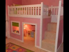 cool bedroom idea but i'd change the color for my boys lol