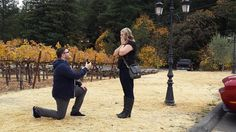 Congratulations to Sally & David! Check out their Napa Valley marriage proposal from @howheasked