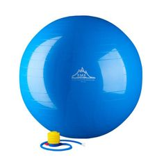 Black Mountain Products 2000 lbs. Static Strength Stability Ball with Pump Blue - 45CM BLUE GYM BALL