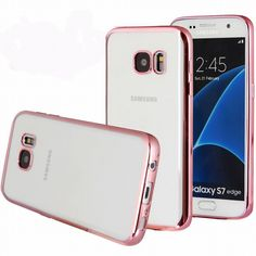 Find More Phone Bags & Cases Information about For Galaxy S7edge Case Samsung S7 Case Silcone TPU Gel Rubber Transparent Back Plating Cover for Samsung Galaxy S7 Rose gold New,High Quality case arduino,China s7 android Suppliers, Cheap case galaxy s2 i9100 from Geek on Aliexpress.com