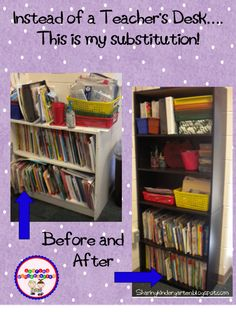 Ever thought about getting rid of your teacher's desk? I did it! And I am so glad I did.