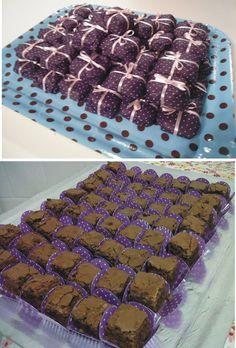 Brownie e mini brownie