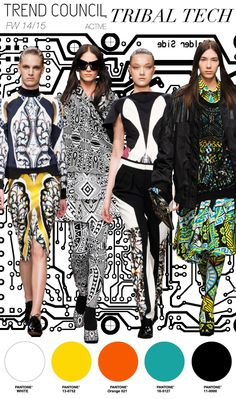 Tribal Tech #fashion #trend forecast Trend Council