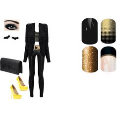 """Guess Hero/Villain Jamberry"" by kspantonjamon on Polyvore"