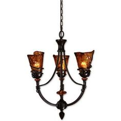 Check out the Uttermost 21226 Vitalia 3 Light Chandelier priced at $437.80 at Homeclick.com.